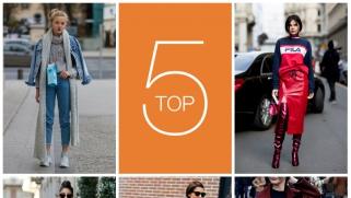 Top 5 des streetstyles de la saison