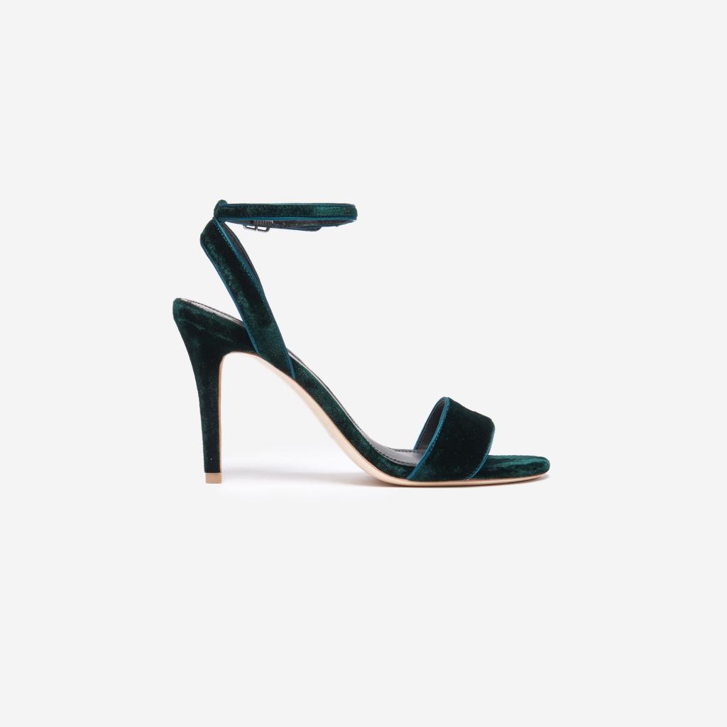 sandales-velours-vert